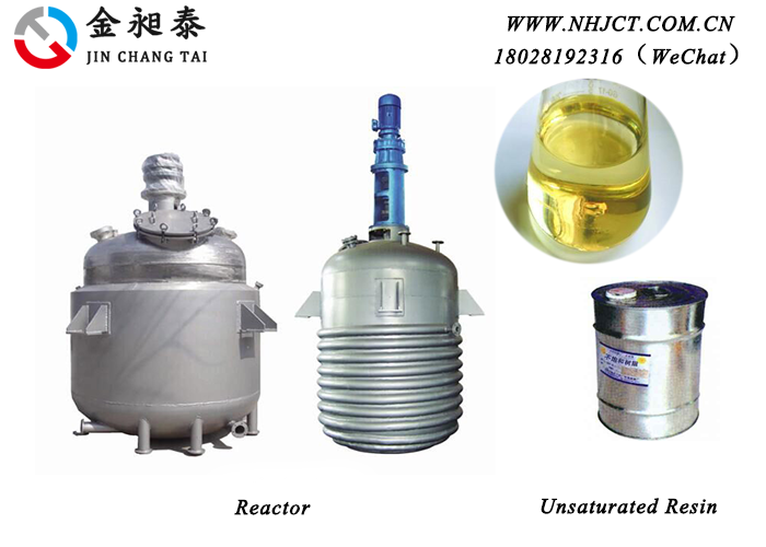 Reacor and Unsaturated resin