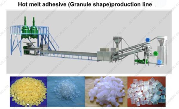 hot melt adhesive production line