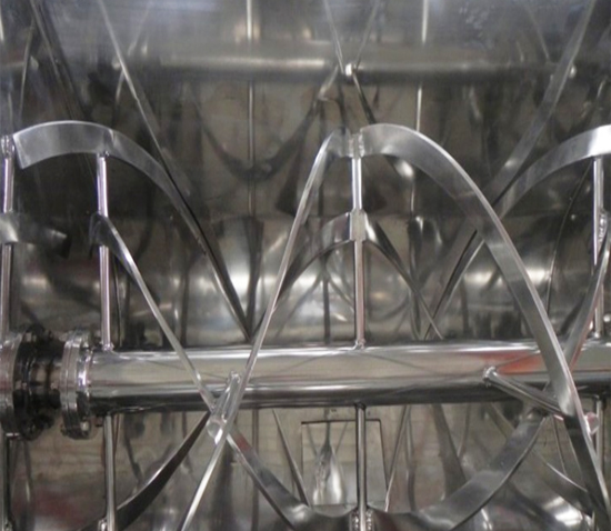 horizontal ribbon mixer