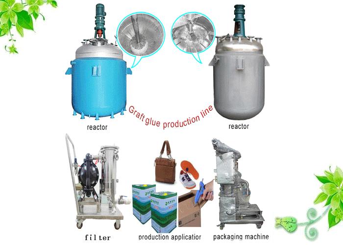 graft glue production line