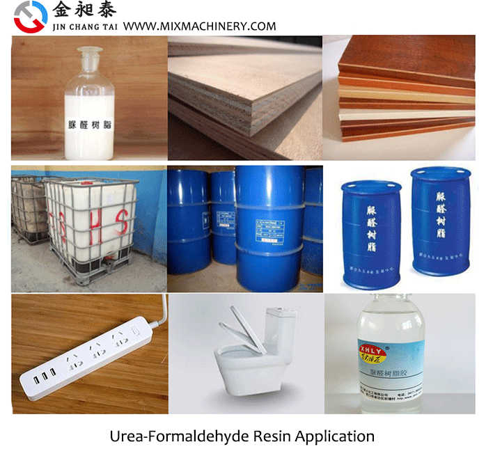 Urea-Formaldehyde(UF) Resin Production Appliction