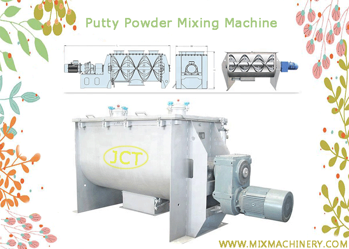 putty powder mixing machine