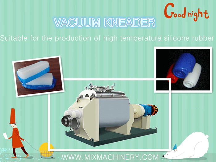high temperature silicone rubber product machinery  ----kneader