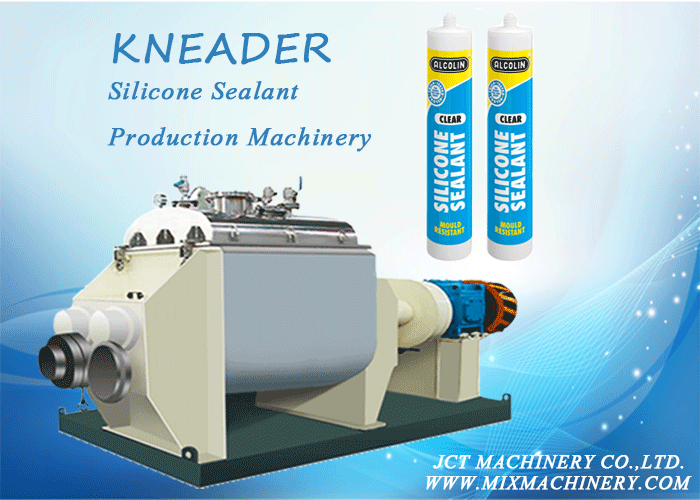 kneader and silicone sealant