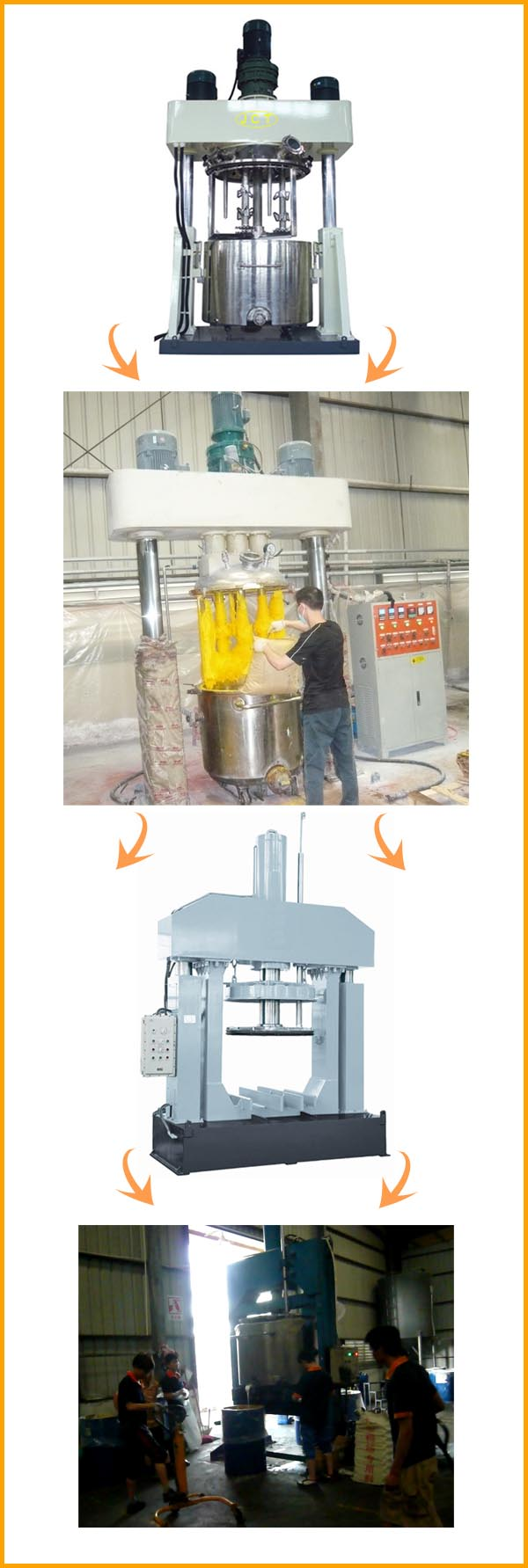 Production process of silicone sealant