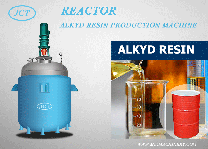 JCT company supplies alkyd resin production line.