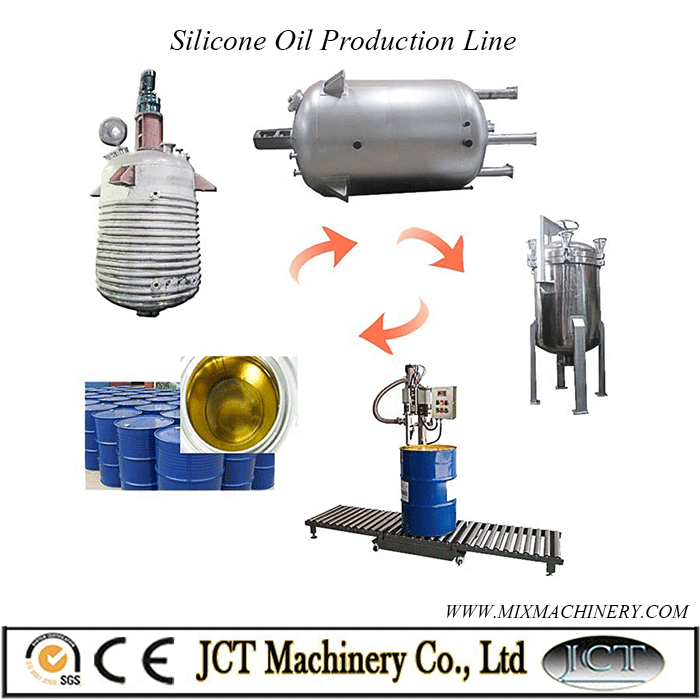 silicone oil production line