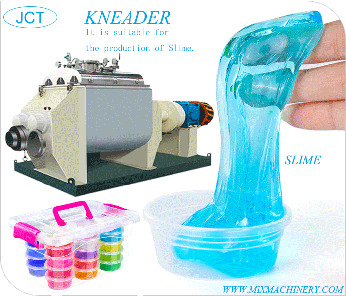 slime production equipment  kneader