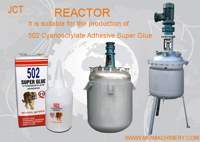 JCT supply 502 cyanoacrylate adhesive super glue production equipment