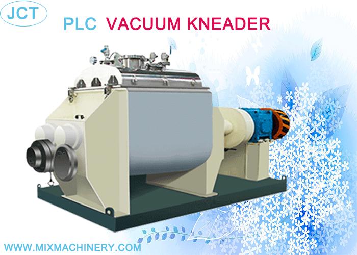 PLC VACUUM KNEADER