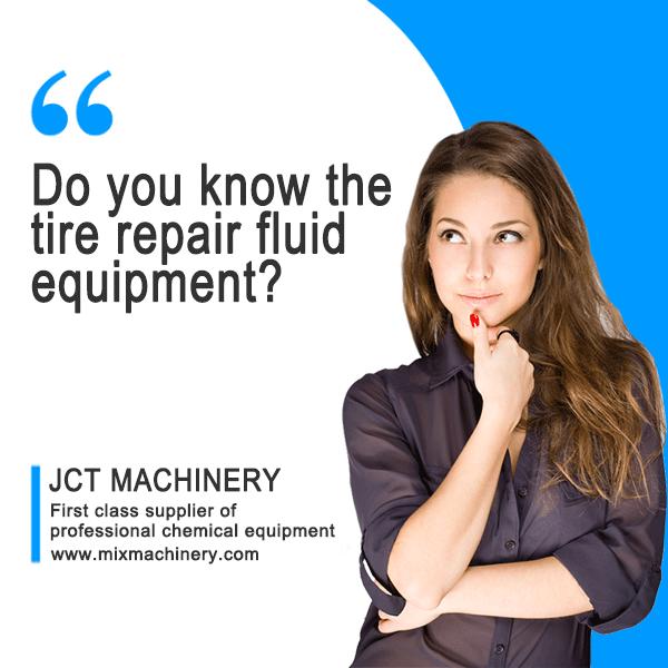 Tire repair fluid equipment supplier