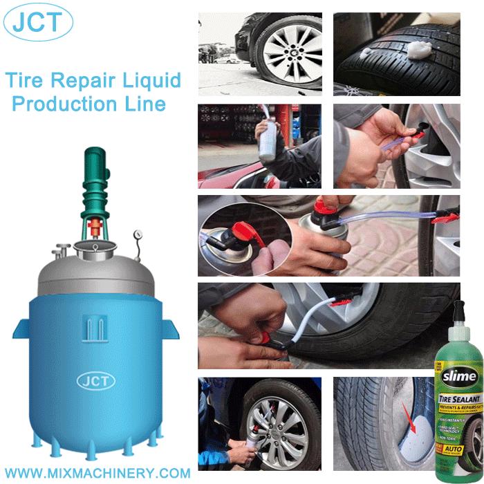JCT tire repair liquid production line