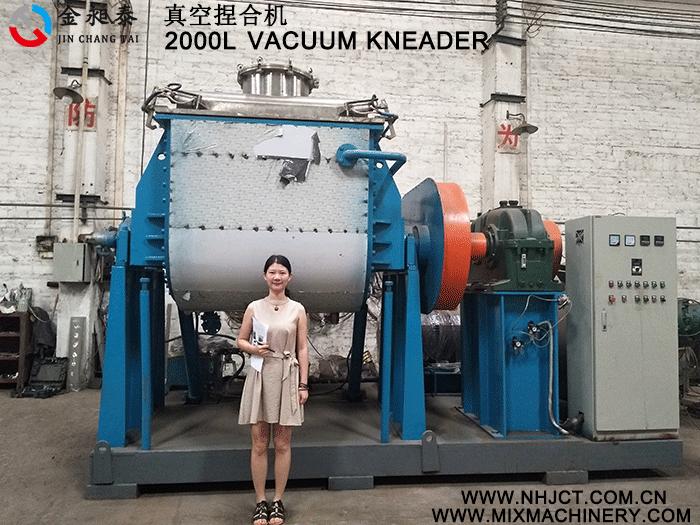 vacuum kneader