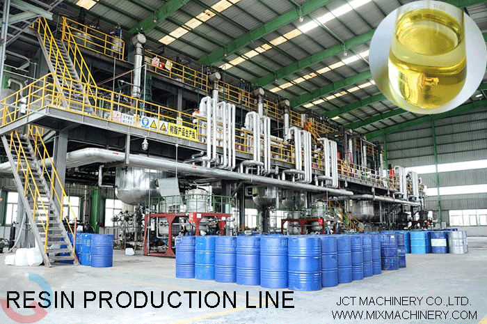 resin production line