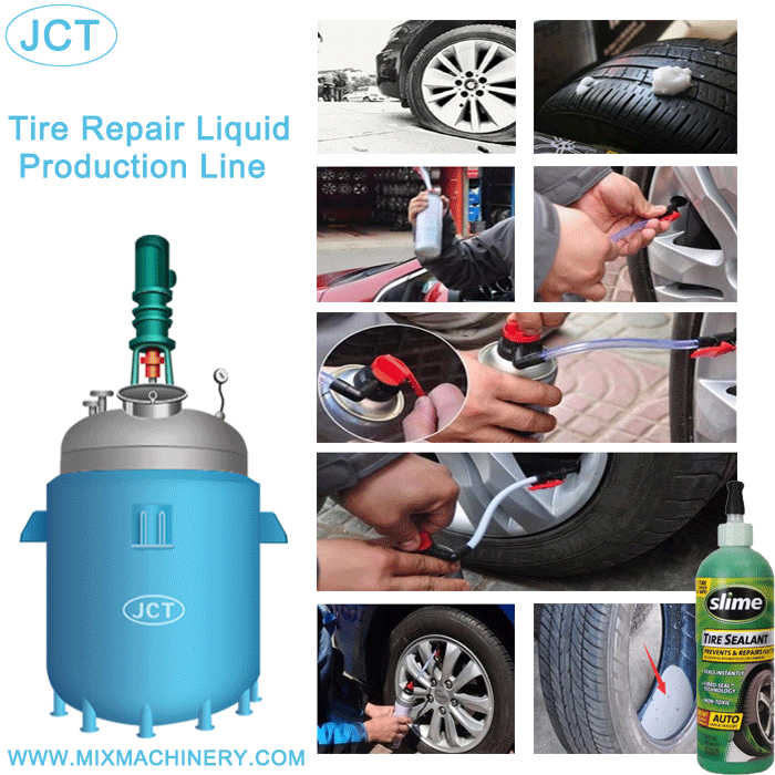 Nigeria customers purchase tire repair fluid equipment