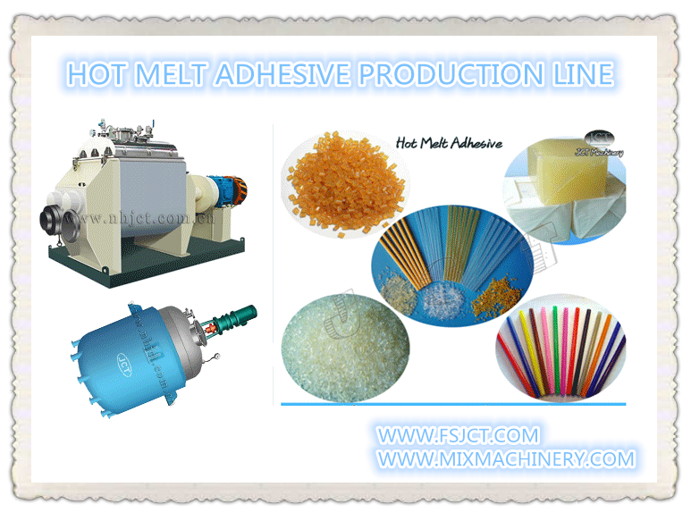 hot melt glue production line