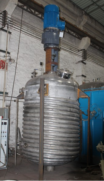 paint making machinery--reactor