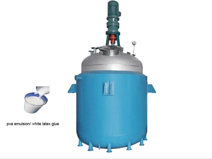 Pa powder adhesive machinery/ neoprene contact adhesive machine reactor mixer