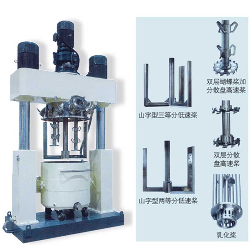 Chemical Description: Is the powerful disperser a powerful mixer?