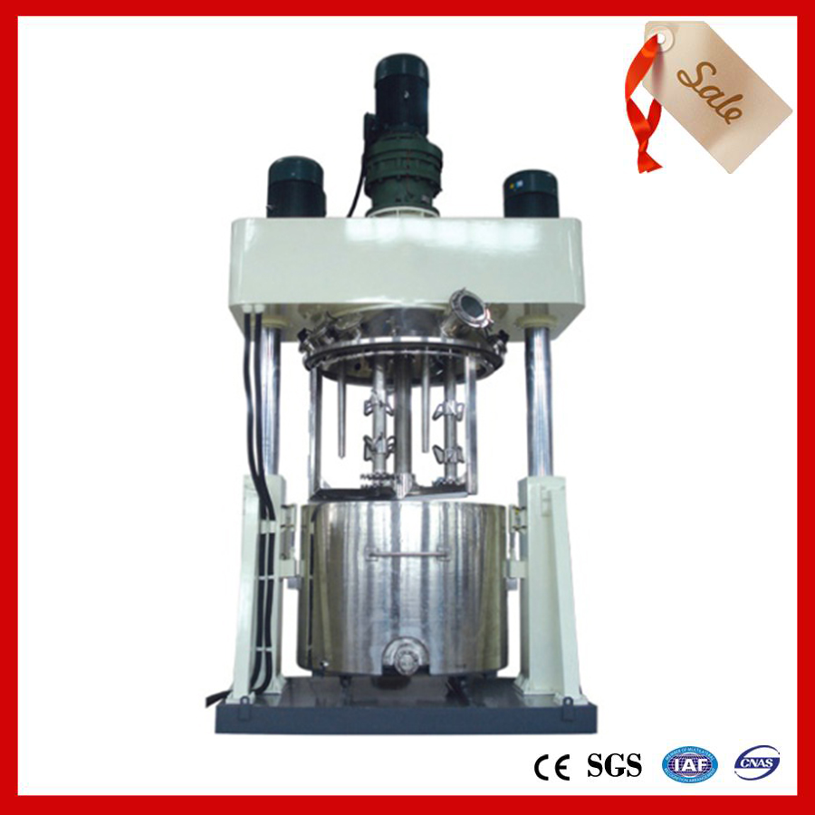 Three-axis mixing powerful disperser structure description!
