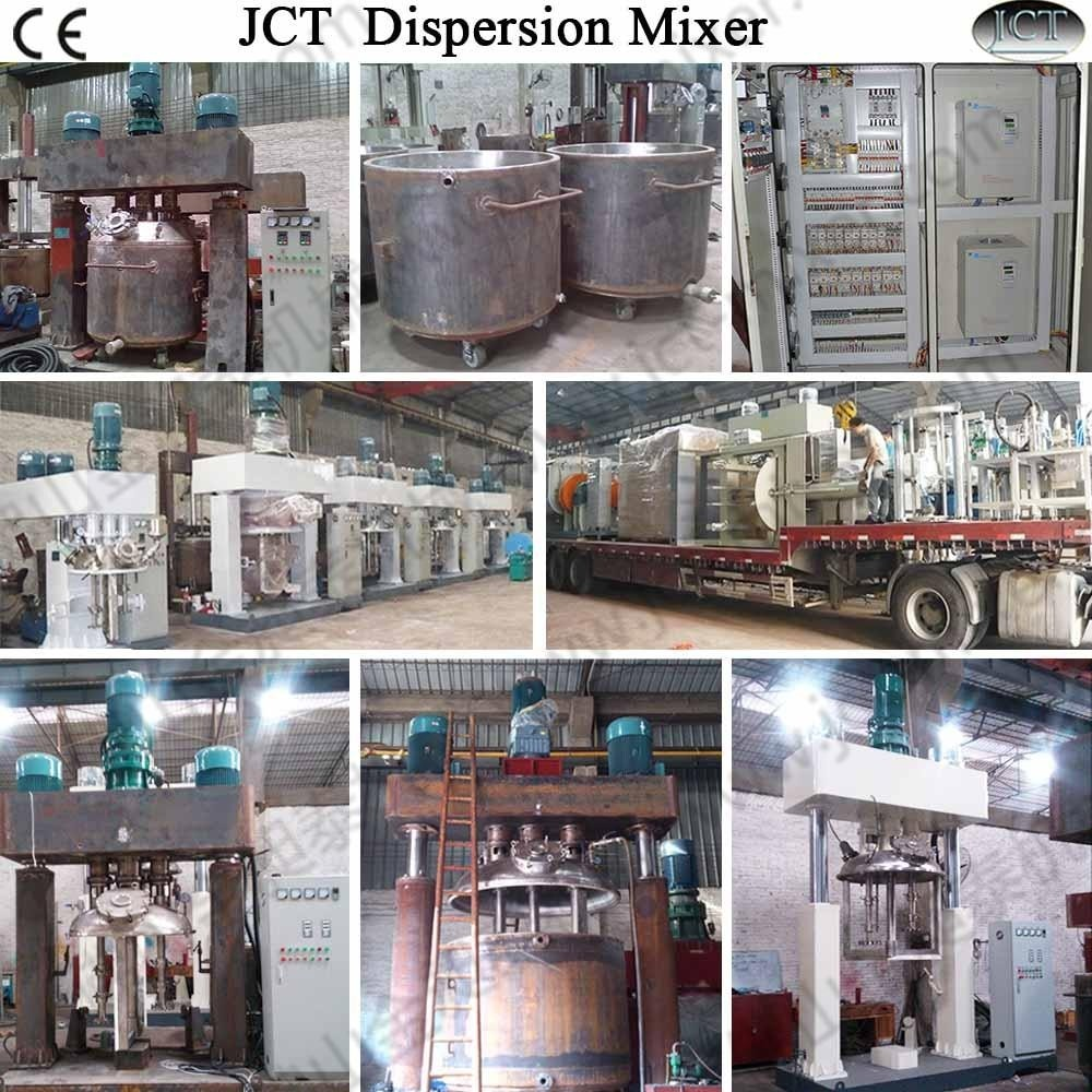 Chemical industry: structure of strong stirring and dispersing machine