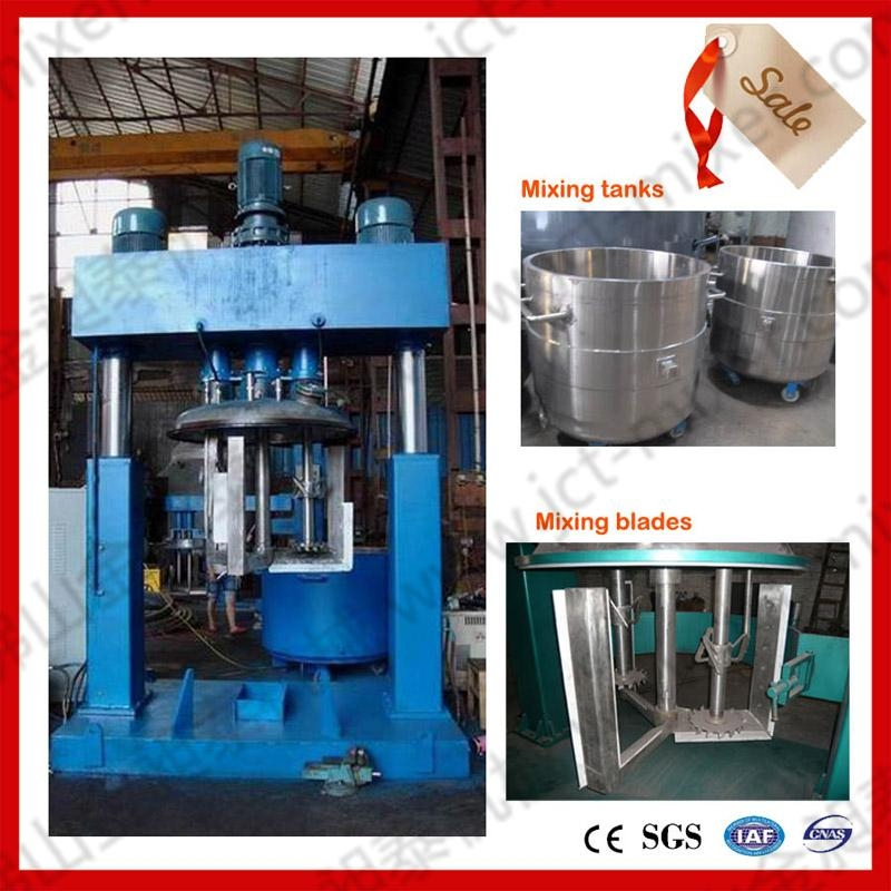 Come fast! About the composition of the three-axis disperser!