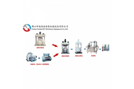 Silicone sealant production lineSilicone sealant production line